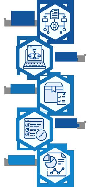 Optimieren Sie Ihre Managementprozesse, indem Sie die Prozesse Ihres Unternehmens digitalisieren.